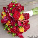 130x130 sq 1386775875339 rose red calla hypericum bride bouquet sonoma wedd
