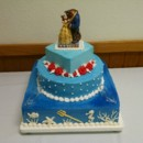 130x130 sq 1415728907153 wedding cake sept 2014 beauty  the beast