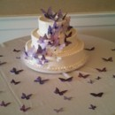 130x130 sq 1416862655265 purple butterfly wedding cake