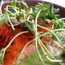 130x130 sq 1368639745295 birch roasted salmon withcelery root ragout fennel cream and pea sprouts img8415