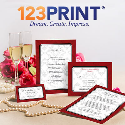 123 Print Wedding Invitations Popular Wedding Invitation 2017