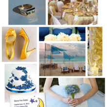 220x220 sq 1428021483796 9 123print celestial blue and gold wedding ideas