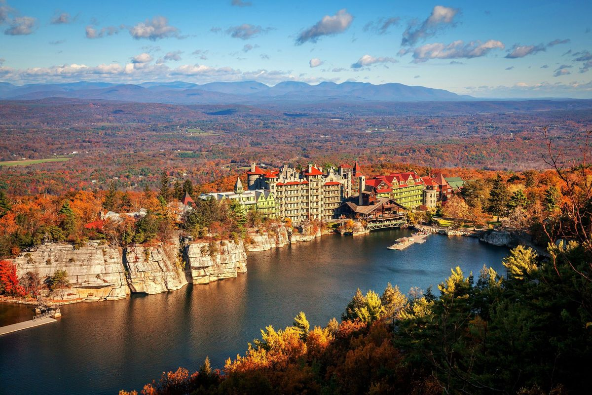 Mohonk mountain house venue new paltz ny weddingwire for Weekend spa getaways ny