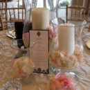 130x130 sq 1460571880071 sample centerpiece   candles and petals