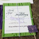 130x130 sq 1318196314031 larakentcalligraphyweddinginvitationdiygreenpurplemodernfont2