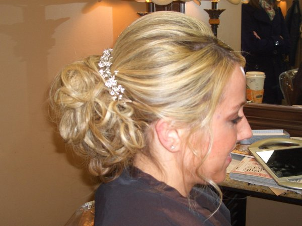 photo 12 of Belle Haven Salon Wedding Hair