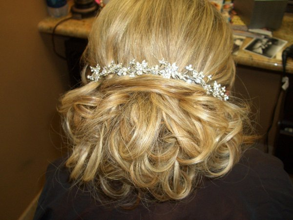 photo 13 of Belle Haven Salon Wedding Hair