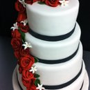 130x130 sq 1313082472176 rosecascadeweddingcake