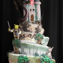 130x130 sq 1329345776327 shrekweddingcakemed
