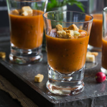 220x220 sq 1470677102328 gazpacho real food website soup shot