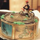 130x130 sq 1328050967880 groomsmotorcyclecake