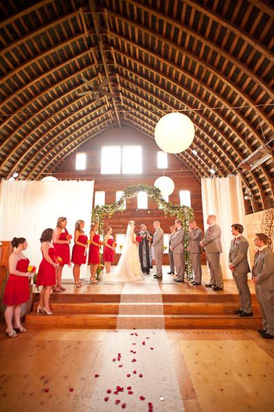 Red Barn Studios Chehalis Wa Wedding Venue
