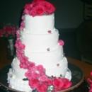 130x130 sq 1465577449617 4 tier round.pink cascade.