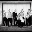 130x130 sq 1234636535566 03 bridalparty bw bjm