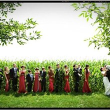 220x220 sq 1234636533363 01 bridalparty red green