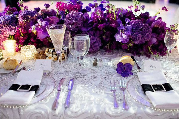 600x600 1467914153880 purple head table evantine design wedding flowers