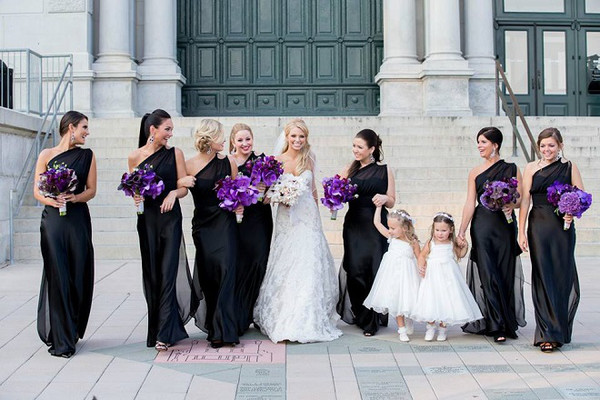 600x600 1467914170046 bridesmaids photos flower girls purple flowers ple