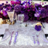 96x96 sq 1467914153880 purple head table evantine design wedding flowers