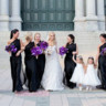 96x96 sq 1467914170046 bridesmaids photos flower girls purple flowers ple