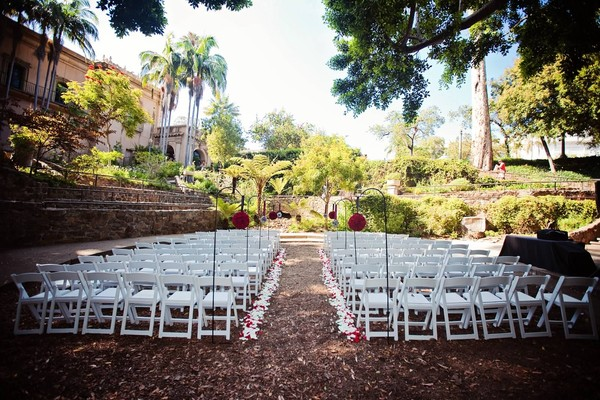 Outdoor Park Or Indoor Room For Wedding Ceremony: San Diego, CA Wedding Venue
