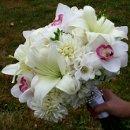 130x130 sq 1301069782256 whiteliliesandcymbidiumorchids