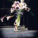 130x130 sq 1356024048390 bouquet6whitepurplecallawire