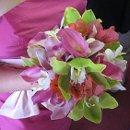 130x130 sq 1356030871010 bouquet1orchidcallapinkgreengrn