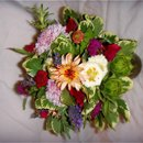 130x130 sq 1236638411876 dawn chris bridesmaidbouquet2