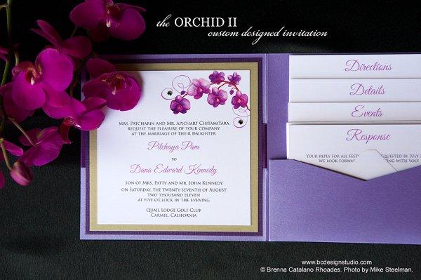 Blue Orchid Wedding Invitations: 1320368215727 PurpleOrchidWeddingInvit Salinas Wedding