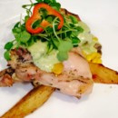 130x130 sq 1432656335152 roasted chicken thighs with hatch green chile crea