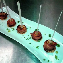 220x220 sq 1490997878294 ww scallops wrapped in bacon with whole grain dijo