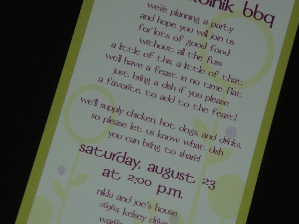 photo 4 of So in Love Invitations