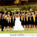 Two lovely brides and their bridal party!