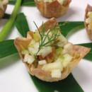 130x130 sq 1483143256465 fennel raisin salsa in baked wonton