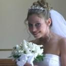 130x130 sq 1393347386497 bride peeks at vide