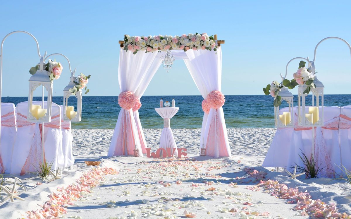 cheap wedding decoration packages barefoot weddings planning fort walton fl 2690
