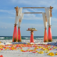 220x220 sq 1413557956946 barefoot beach wedding