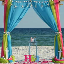 220x220 sq 1445872277680 barefoot beach wedding 2