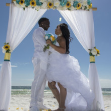 220x220 sq 1512764687067 barefoot beach wedding 17