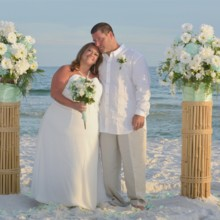 220x220 sq 1512764716247 barefoot beach wedding package 1
