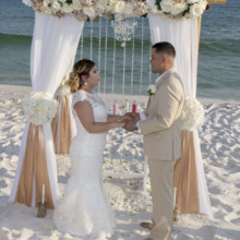 220x220 sq 1512764897459 destin barefoot beach wedding 2