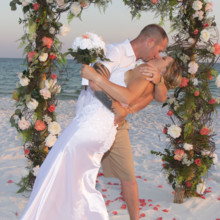 220x220 sq 1512765043431 sunset beach weddings 2