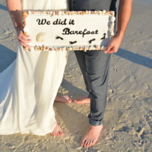 220x220 sq 1512765084197 barefoot beach wedding 3