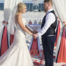 220x220 sq 1512765484584 barefoot beach wedding 8