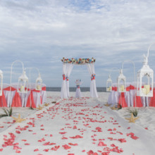 220x220 sq 1512765515707 barefoot beach wedding 21