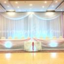 130x130 sq 1380811778384 all white decor with magenta ribbon accent