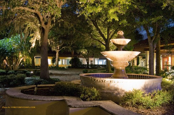 The Courtyard At The Oaks Melbourne Fl Wedding Venue