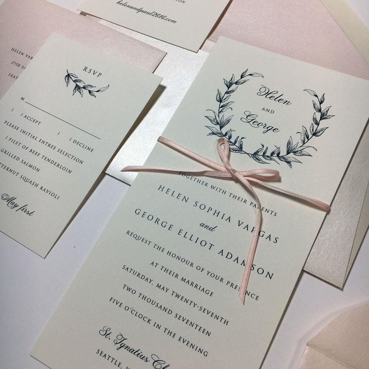 Bellevue Wedding Invitations - Reviews for Invitations