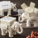 130x130 sq 1445009999631 lucky elephant antique ivory finish tea light hold