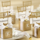 130x130 sq 1445010017451 monogrammable mini gold chair favor box with heart